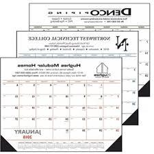 2018 promotional desk calendars custom regarding stylish house pad