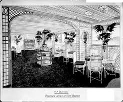 proposed design of the first class café parisien on the u0027olympic