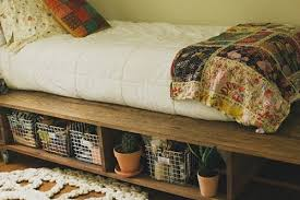 Diy Platform Bed And Storage by 15 Diy Platform Bed Ideas Home And Gardening Ideas