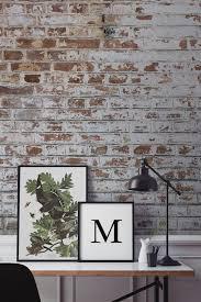 Wallpapers For Interior Design by Best 25 Brick Wallpaper Bedroom Ideas On Pinterest Brick