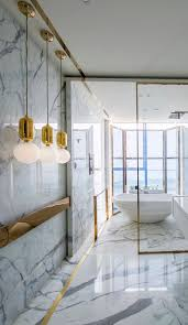 gold bathrooms 18 gorgeous marble bathrooms with brass gold fixtures