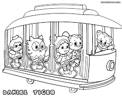 fresh daniel tiger coloring pages 66 in coloring pages for kids