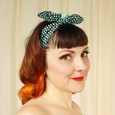 polka dot hair aqua polka dot hair tie cats like us