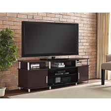 altra carson tv and gaming stand for tvs up to 70 inch cherry
