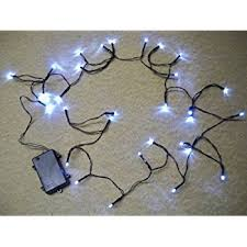 2 sets of 30 led bright white waterproof outdoor battery operated