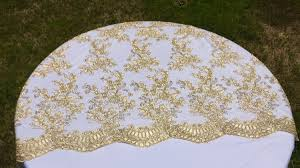 Lace Table Overlays Vintage Wedding Table Cloth Gold Tablecloth Overlay Lace