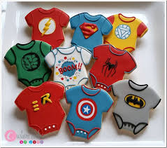marvel baby shower adorable baby shower cookies between the pages