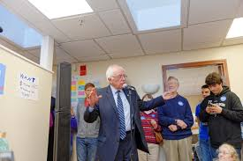 file senator of vermont bernie sanders campaign field office in