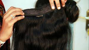 hair extensions clip in hair extensions buy online india