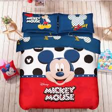 Mickey And Minnie Bed Set by Mickey Mouse Kid Bedding Set