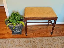How To Make A Simple Wooden Bench - how to refinish and reupholster a bench hgtv