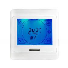 bathroom underfloor heating thermostat sunstone underfloor heating sunstone touchscreen programmable