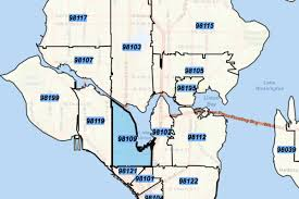 Zip Code Map Orlando by Seattle Zip Codes Map Zip Code Map