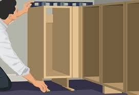 home depot base cabinets base cabinet installation guide at the home depot install remaining