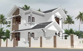 double floor colonial style home u2013 kerala home design
