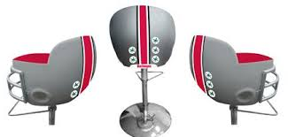 Ohio State Chair Ohio State Helmet Bar Stool