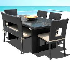 Resin Patio Table And Chairs 6pc Outdoor Dining Table Set I Order Now I Free Shipping