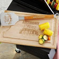 personalized bbq platter outdoor grill accessories gifts