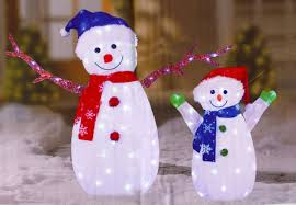 Light Up Snowman Outdoor Light Up Outdoor Snowman Sacharoff Decoration