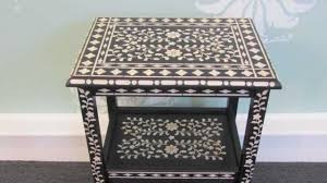 Ideas For Bone Inlay Furniture Design How To Stencil Furniture With Benjamin Moore Paint Youtube