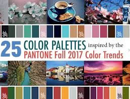 30 color palettes inspired pantone spring 2017 color trends