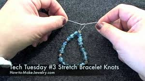 bracelet elastic string images Wonderful how to make stretch bracelet tech tuesday 3 knotting for jpg