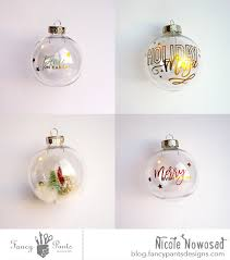 diy december rub on ornaments fancy designs studio
