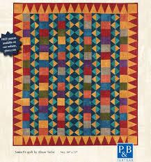 quilt pattern websites free pattern santa fe quilt by alison tudor