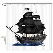 Pirate Bathroom Decor by Best Pirate Ship Shower Curtain For The Bathroom Decor The Best