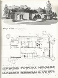 Fox And Jacobs Floor Plans Plans For 4 Model Eichler Homes In Concord Simspiriation