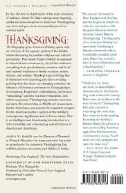 thanksgiving the biography of an american revisiting new