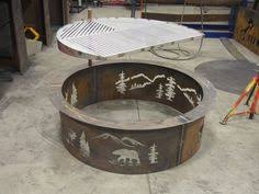 Custom Fire Pit by 24
