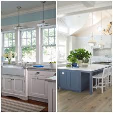kitchen style single wall kitchen design retro beach house pastel