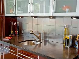 kitchen copper backsplash peel and stick glass tile backsplash