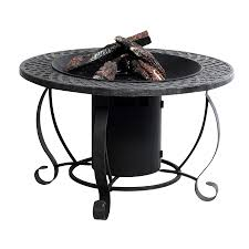 Bond Propane Fire Pit Shop Garden Treasures 29 92 In W 20 000 Btu Charcoal Steel Propane