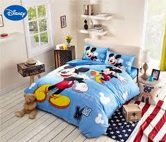 Mickey Mouse Queen Size Bedding Mickey Mouse Bedding Cotton Fabric Bedclothes Cartoon Disney