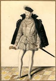 siege de style françois de lorraine duc de guise 1563 dessin d un portrait
