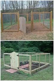 Garden Barrier Ideas Garden Design Best 25 Vegetable Garden Fences Ideas On Pinterest