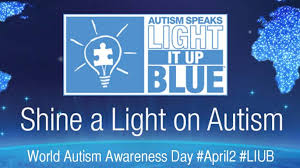 autism speaks light it up blue to everyone who will light it up blue on world autism awareness day