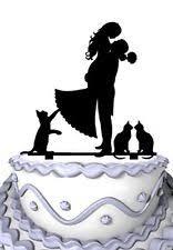 cat wedding cake topper cat wedding cake toppers ebay