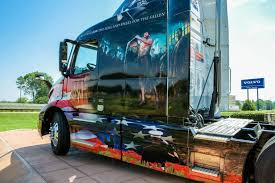new volvo commercial volvo honors military heroes with new volvo vnr u201cride for freedom