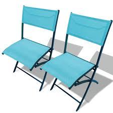 chaise de pliante chaise pliante colorée idéale pour balcon terrasse petit jardin