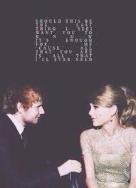 everything has changed taylor swift u0026 ed sheeran this was my