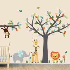Wall Decals For Baby Nursery Jungle Wall Decals Baby Room Wall Decals Room Wall Decals