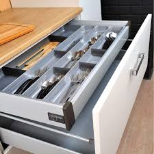 accessoire tiroir cuisine métal leroy merlin