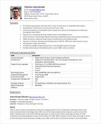 Resume Template For Software Engineer Software Engineer Resume Sample And Tips
