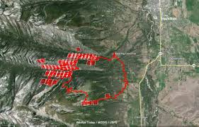 Map Of Gatlinburg Tennessee by The Spread Of The Roaring Lion Fire Slows U2013 Wildfire Today