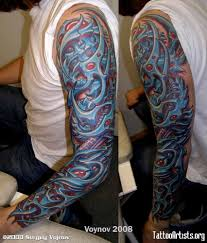biomechanical tattoos and designs page 93
