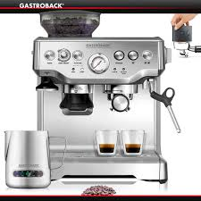 gastroback 42612 design espressomaschine advanced pro g gastroback news cookfunky