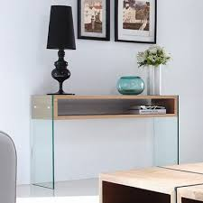 Cheap Console Table by Glass Top Console Table Cheap Good Wood And Glass Console Table